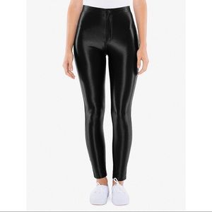 American apparel disco pants (NEW)